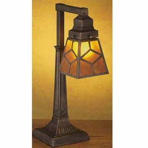 Mica Diamond Tiffany Desk Lamp