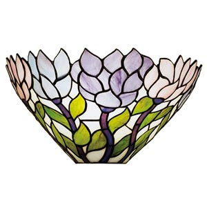 14-Inch Wisteria Wall Sconce