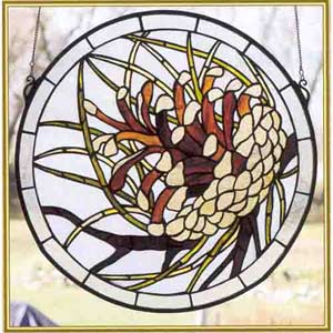 Pine Cone Window