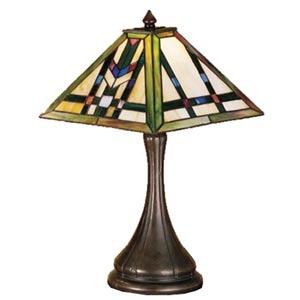 17-Inch Prairie Wheat Accent Lamp