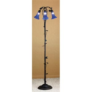 Three-Light Lily Floor Lamp