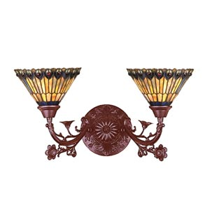 Two-Light Victorian Sconce