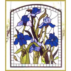 Iris Arched Window
