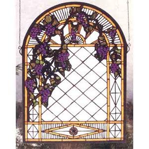 Grape Diamond Large Trellis Window