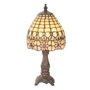 13-Inch Victorian Flourish Mini Lamp