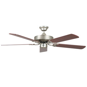 California Home Satin Nickel 52-Inch Energy Star Ceiling Fan