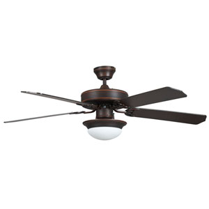 Heritage Fusion Oil Rubbed Bronze 52-Inch Energy Star Ceiling Fan with Light Kit