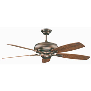 Roosevelt Oil Brushed Bronze 52-Inch Energy Star Ceiling Fan