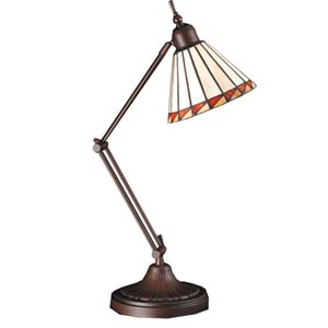 23-Inch Prairie Mission Adjustable Desk Lamp