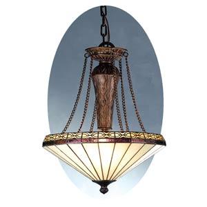 Crestwood Inverted Phoenician Copper Pendant