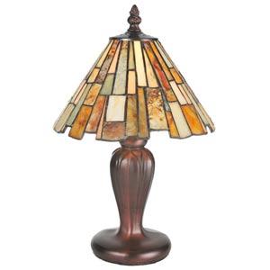 13-Inch Jadestone Delta Mini Lamp