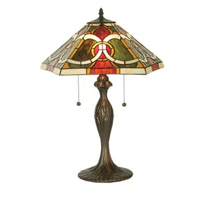 22.5-Inch Moroccan Table Lamp