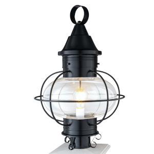 Vidalia Onion Black One-Light 22-Inch Outdoor Post Lamp