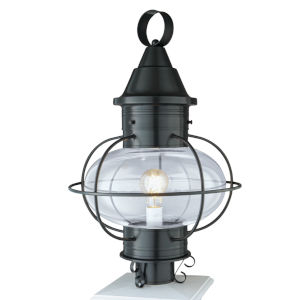 Vidalia Onion Gun Metal One-Light 22-Inch Outdoor Post Lamp
