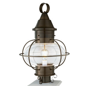 Vidalia Onion Sienna One-Light 22-Inch Outdoor Post Lamp