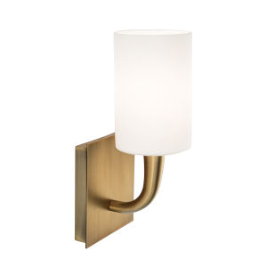 Trumpet Aged Brass Five-Inch One-Light Wall Sconce