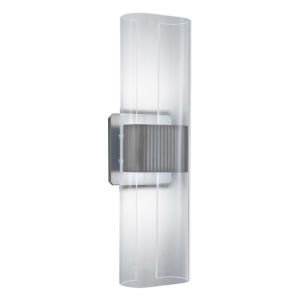 Gem Brushed Nickel 17-Inch LED Wall Sconce