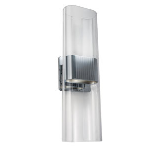 Gem Chrome 17-Inch LED Wall Sconce