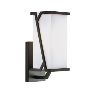 Moiselle Matte Black One-Light 12-Inch Wall Sconce