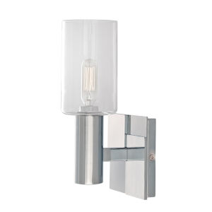Empire Chrome One-Light 10-Inch Wall Sconce