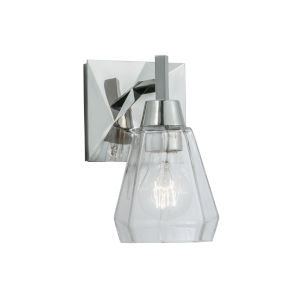 Arctic Polished Nickel One-Light Wall Sconce