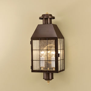 American Heritage Bronze Two Light Outdoor Wall Mount