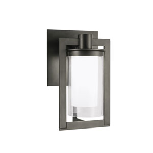 North Bronze LED Eight-Inch Outdoor Wall Mount