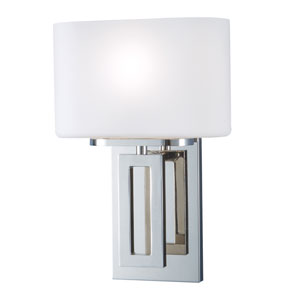 Hamilton Polished Nickel One-Light Wall Sconce