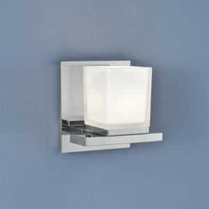 Icereto Chrome Single Light Wall Sconce