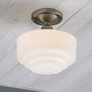 Schoolhouse Semi-Flush Ceiling Light