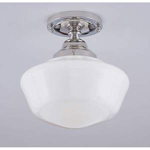 Schoolhouse Ceiling Light Semi-Flush