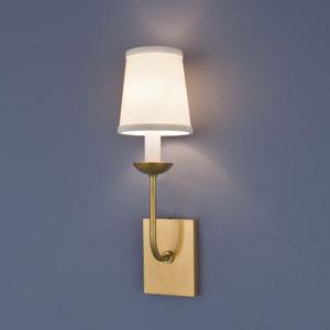 Circa Aged Brass Single Light Wall Sconce