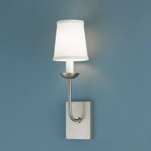 Circa Brushed Nickel Single Light Wall Sconce