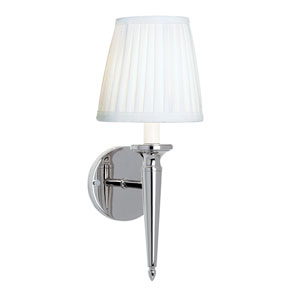 Georgetown Polished Nickel One-Light Wall Sconce