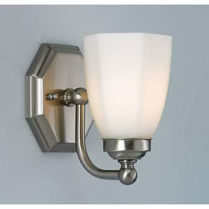 Trevi Brushed Nickel One-Light Wall Sconce