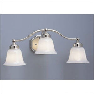 Trevi Brushed Nickel Three Light Wall Sconce