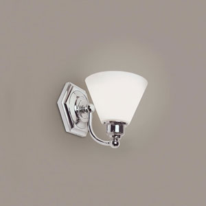 Jenna Chrome Two Light Wall Sconce