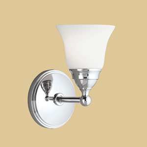 Sophie Chrome Single Light Wall Sconce