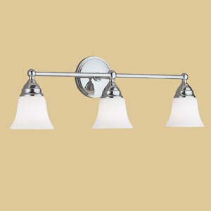 Sophie Chrome Three Light Wall Sconce
