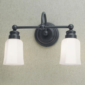 Emily Oil Rubbed Bronze Two Light Wall Sconce
