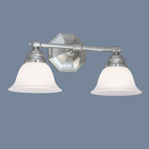 Kathryn Chrome Two Light Wall Sconce