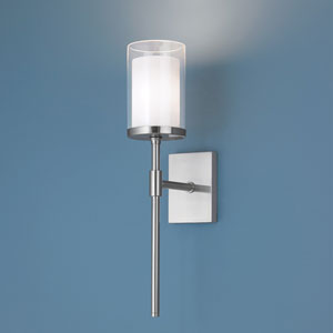Kimberly Brushed Nickel Wall Sconce