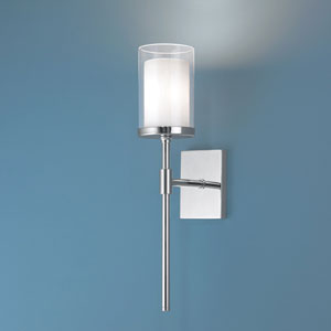 Kimberly Polished Nickel Wall Sconce