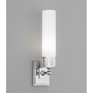 Astro Chrome Single Light Wall Sconce