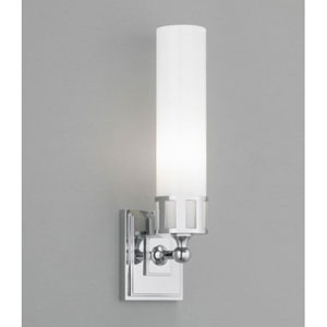 Astro Polished Nickel Single Light Wall Sconce