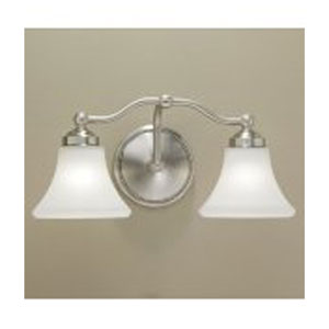 Soleil Chrome Two Light Wall Sconce