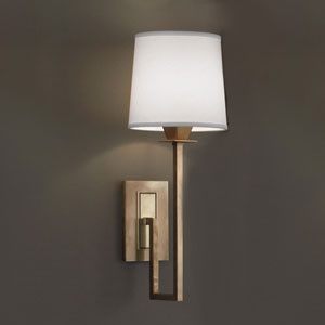 Maya Aged Brass Single Light Wall Sconce