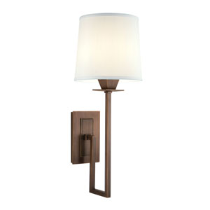 Maya Architectural Bronze One-Light Wall Sconce