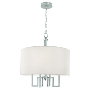 Maya Brushed Nickel Four-Light Pendant