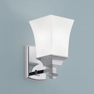 Sapphire Chrome Single Light Wall Sconce